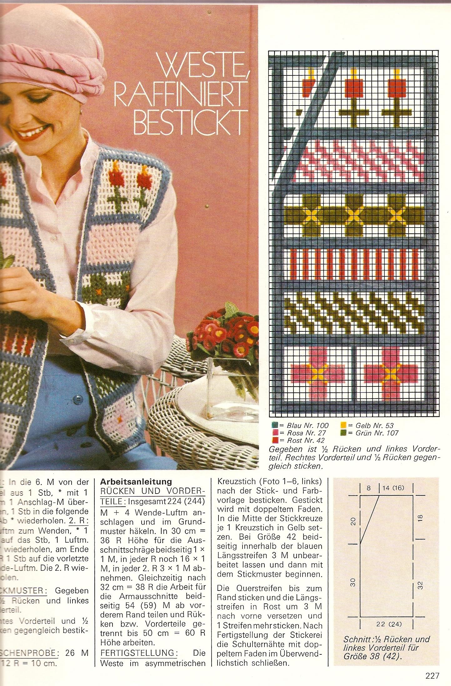 Вязание » Вязание, вязание спицами, вязание крючком, Схемы 64