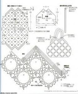 Летние вязанные сумки - схема