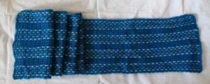 Вязаный крючком шарф.