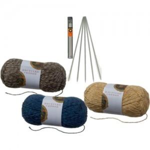 Вязание носков.